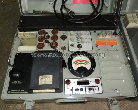 Cardmatic Tube Tester AN/USM-118B; Hickok Electrical (ID = 1553675) Military