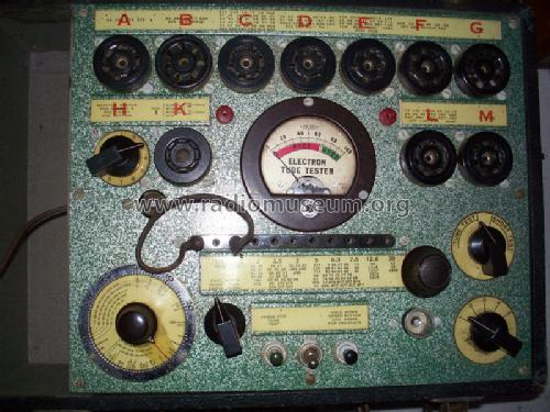 Electron Tube Tester 3800; Hickok Electrical (ID = 1125447) Equipment