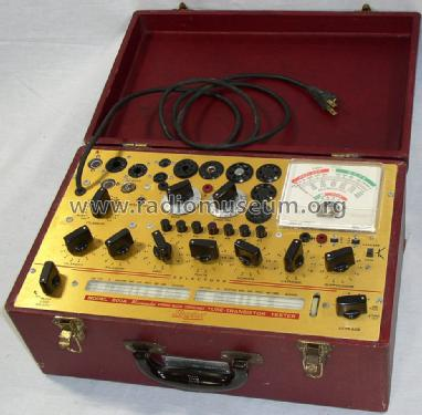 Micromho Tube-Transistor Tester 800A; Hickok Electrical (ID = 1215533) Equipment