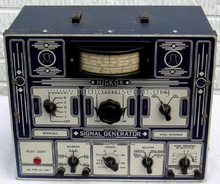 Signal Generator 17 ; Hickok Electrical (ID = 1773403) Equipment