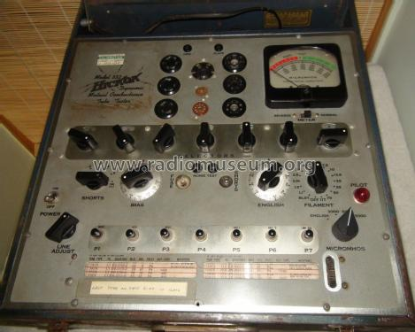 Tube Tester 532P; Hickok Electrical (ID = 1555282) Equipment
