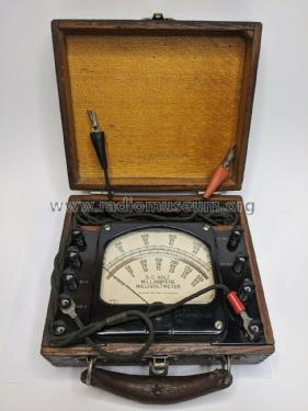 D.C. Volt - Milliampere - Millivoltmeter 440; Hickok Electrical (ID = 2506012) Equipment