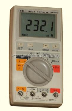 Digital Multimeter 3231; Hioki E.E. (ID = 965387) Equipment