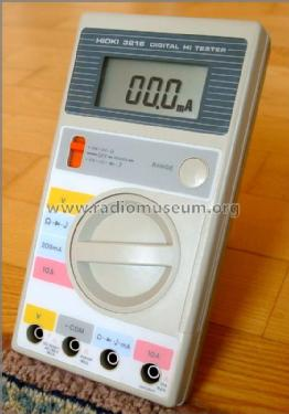 Digital Hi Tester 3216 Equipment Hioki E E  Corporation