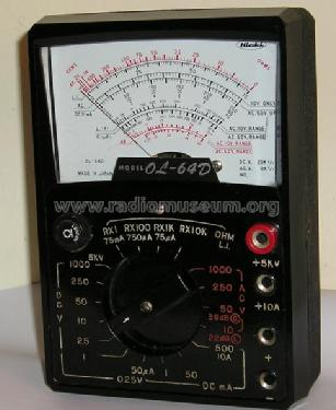 Multimeter OL-64D; Hioki E.E. (ID = 1246622) Equipment