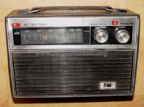 All Transistor Radio TH-851; Hitachi Ltd.; Tokyo (ID = 1237168) Radio