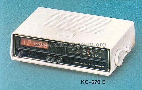 Electronic Clock Radio Kc670e Hitachi Ltd Tokyorhradiomuseumorg: K C Radio At Gmaili.net