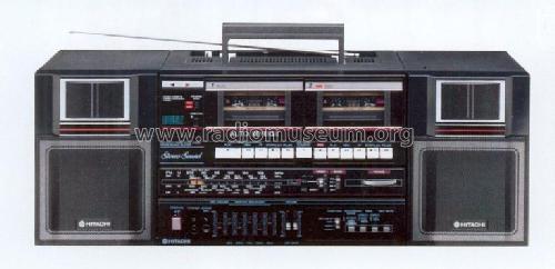 TRK-W550E; Hitachi Ltd.; Tokyo (ID = 559906) Radio
