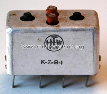 ZF Bandfilter 473kHz/10,7MHz KZB 1; Hochfrequenz (ID = 2080423) mod-past25