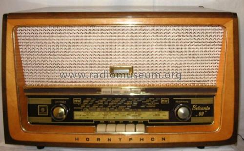 Belcanto 60 WH369A; Horny Hornyphon; (ID = 136981) Radio