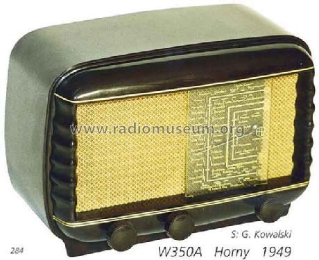 Rigoletto W350u Radio Horny Hornyphon Wien Build