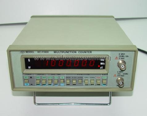 Multifunction Counter HC-F1000; Hung Chang Co. Ltd., (ID = 779699) Equipment