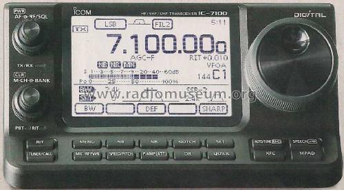 ICOM IC-7100 TRANSCEIVER WINDOWS XP DRIVER DOWNLOAD