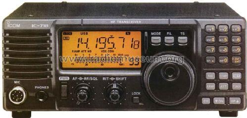 IC-718 Amateur Icom Incorporated.; Osaka, build 2000, 1 pict