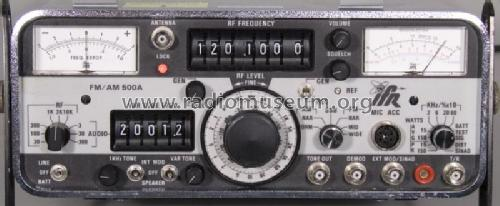 Radio Communications Set FM/AM-500A Equipment IFR