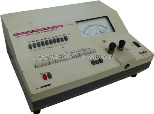 Direct Reading Capacitance Meter WMP-3; INCO Zjednoczone (ID = 1398536) Equipment