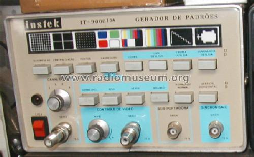 Color Bar Generator : Color bar pattern generator it a equipment instek