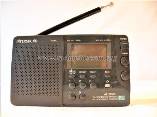 FM Stereo/MW/SW1/SW2 PLL Synthesized Receiver WE-215 PLL; Intersound brand (ID = 2446899) Radio