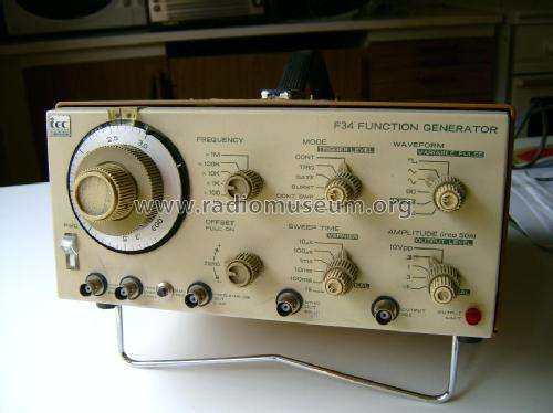 F34 Function generator; Interstate (ID = 642714) Equipment