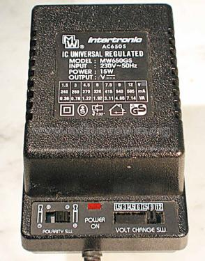 IC Universal Regulated Power Adaptor MW650GS ; Intertronic, (ID = 1384032) Power-S