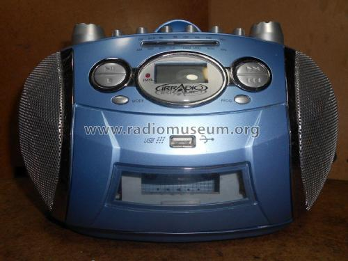 CD/MP3/USB Radio Cassette Recorder CDMP-327U; Irradio; Milano (ID = 2152210) Radio