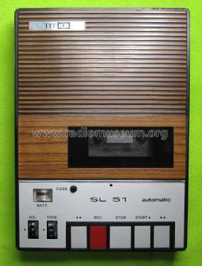 Automatic Cassette Recorder SL51; ITT-KB; Foots Cray, (ID = 2045596) R-Player