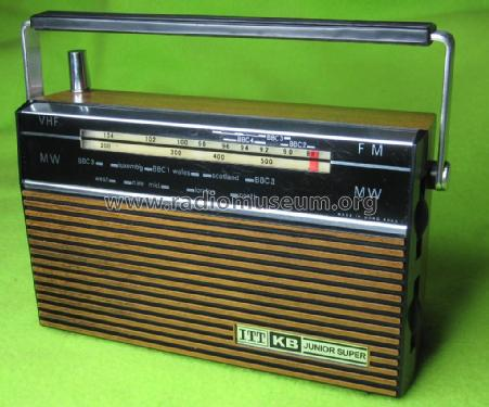 Junior Super ; ITT-KB; Foots Cray, (ID = 1998018) Radio