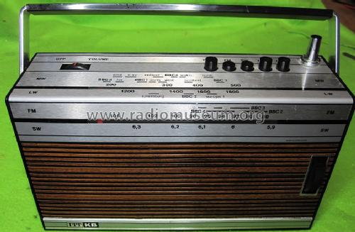 Super 4 KR614; ITT-KB; Foots Cray, (ID = 1678679) Radio