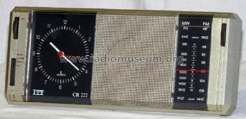 Clockradio Quarz CR222; ITT Schaub-Lorenz (ID = 689627) Radio