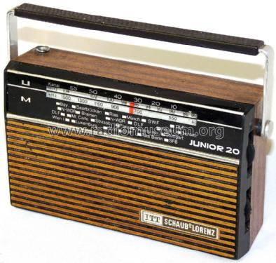 Junior 20 52330305; ITT Schaub-Lorenz (ID = 1224242) Radio