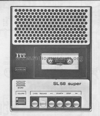sl58 studio enr g r itt schaub lorenz build 1977 1 images. Black Bedroom Furniture Sets. Home Design Ideas