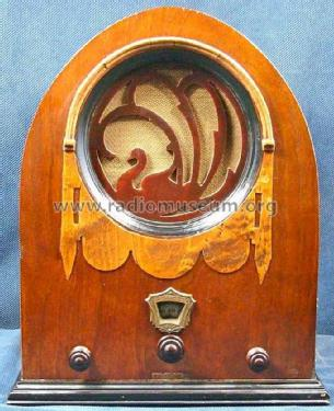 62 'Swan' or 'Peacock' ; Jackson-Bell Co. pre (ID = 926365) Radio