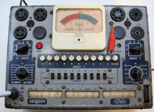 Tube tester 715; Jackson The (ID = 1404942) Equipment