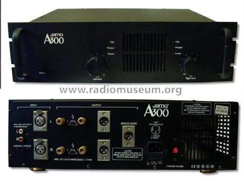 Power Amplifier A300; Jamo A/S; Glyngøre (ID = 1784353) Ampl/Mixer