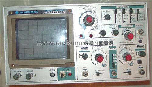 Dual Trace Oscilloscope : Dual trace oscilloscope mhz equipment jdr instrument