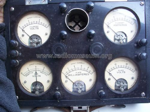 Jewell Radio Test Set Pattern No  95 Equipment Weston Electr