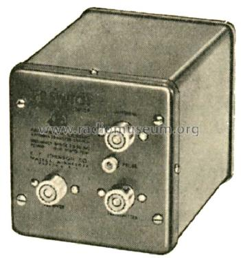 Electronic Antenna Switch T-R Switch; Johnson Company, E.F (ID = 605232) Amateur-D