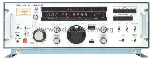 NRD-93; JRC Japan Radio Co., (ID = 1295075) Receiver-C