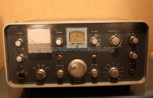 6 Band-Transceiver KW 2000A; K.W. Electronics Ltd (ID = 678594) Amateur