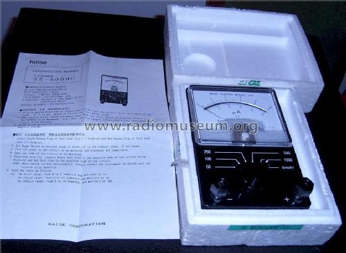 DC-Microammeter SK-5000C; Kaise electric (ID = 1596565) Equipment