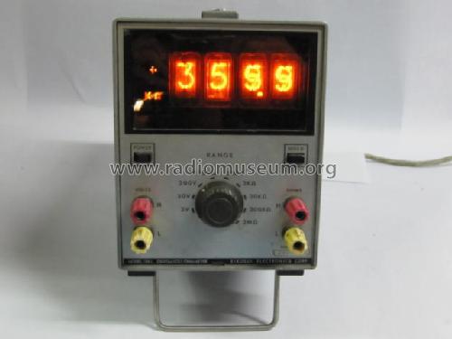 Digital Volt Ohmmeter : Digital volt ohmmeter l equipment kikusui electronics