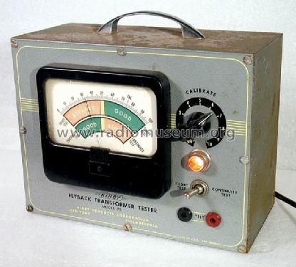 Flyback Transformer Tester 98 Equipment Kirby Products