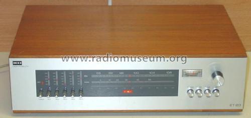 Fonkelnieuw Telewatt High Fidelity FM Stereo Tuner ET 20 Radio Klein & H GL-22
