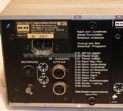 K+h Telewatt S 40 K Einschub Video Production & Editing