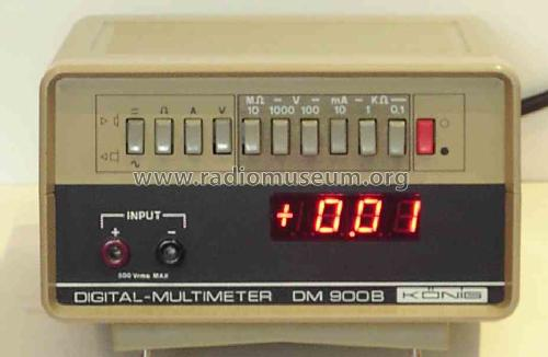 Digital-Multimeter DM 900B; König Electronic (ID = 1194330) Equipment