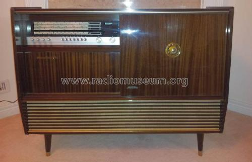 stereo console de luxe rm c 64 ba ch 666 e radio kuba imper. Black Bedroom Furniture Sets. Home Design Ideas