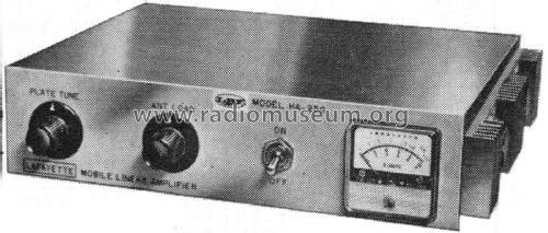 Mobile Linear Amplifier HA-250 Amateur-D Lafayette Radio & T