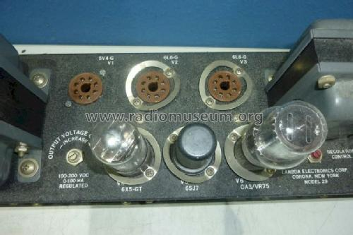 Regulated Power Supply 29-391 Power-S Lambda Electronics