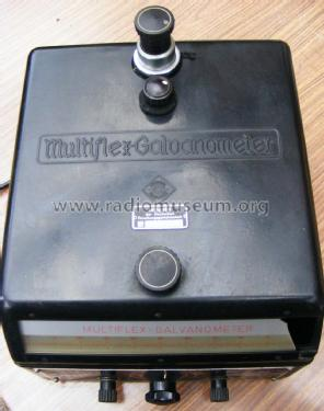 Multiflex-Galvanometer MGF4; Lange, Dr. Bruno (ID = 2012601) Equipment