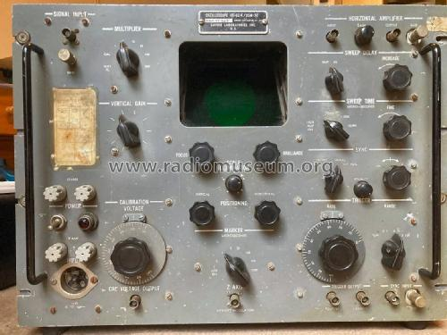 Oscilloscope OS-62A/USM-50; Lavoie Laboratories; (ID = 2602656) Equipment